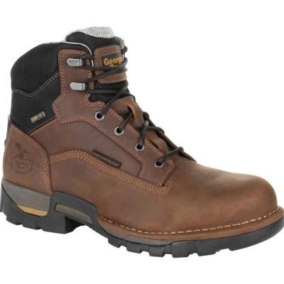 ジョージアブーツ Georgia Boot メンズ ブーツ ワークブーツ シューズ・靴 Eagle One Steel Toe Waterproof Work Boot brown