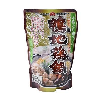 サンダイナー食品 鴨地鶏鍋 800g