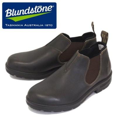 Blundstone (ブランドストーン) BS1610050 #1610 CLASSICS LOW-CUT クラシック ローカット サイドゴア レザースリッポンシューズ Stout Brown BS003