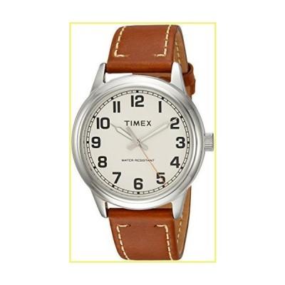 【新品・未使用】Timex メンズ腕時計 New Englandシリーズ Tan/Cream【並行輸入品】