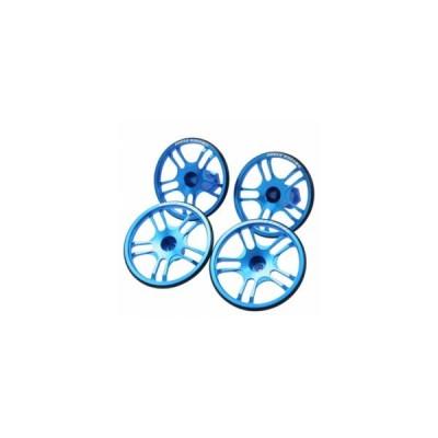 【ネコポス対応】イーグル(EAGLE)/3722-LBL/SPセッティングホイル(4):1/10 F1シャーシ用(ライトブルー) F1シャーシ用