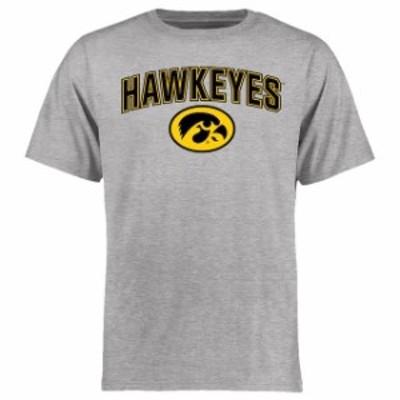 Fanatics Branded ファナティクス ブランド スポーツ用品  Iowa Hawkeyes Ash Proud Mascot T-Shirt
