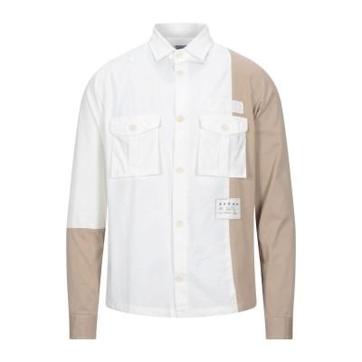ジ・エディター THE EDITOR シャツ ベージュ 40 コットン 100% / ポリウレタン シャツ