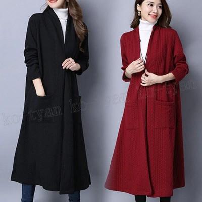 トレンチコート ロングコート アウター ゆったりサイズ ミリタリーコート コート ライトアウター 上着 ガウンコート ゆったり 楽ちん オーバーサイズ