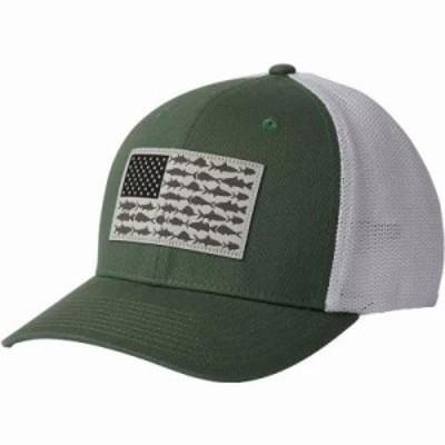 コロンビア キャップ PFG Mesh Ball Cap Thyme Green/Fish Flag