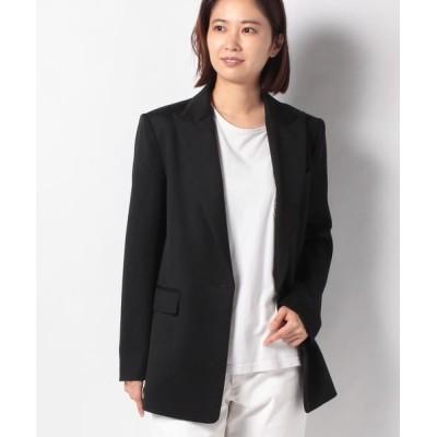 ANAYI/アナイ ウールツイルテーラードジャケット ブラック5 36