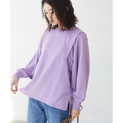tシャツ Tシャツ ボリューム袖デザインプルオーバー*