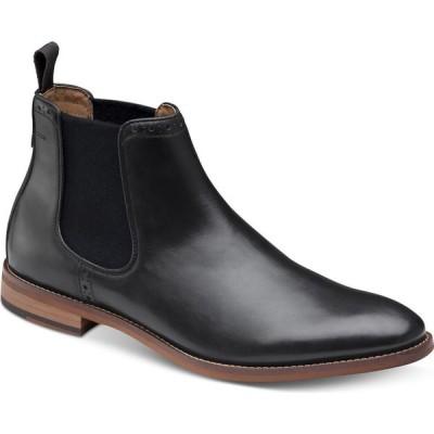 ジョンストン&マーフィー Johnston & Murphy メンズ ブーツ チェルシーブーツ シューズ・靴 Haywood Chelsea Boots Black