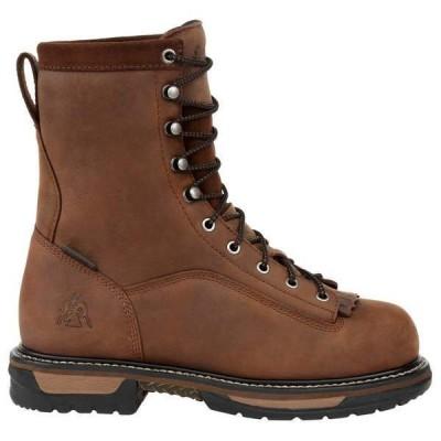 ロッキー メンズ ブーツ・レインブーツ シューズ Ironclad Kiltie 8 inch Steel Toe Waterproof EH Work Boots
