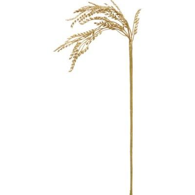 造花 YDM イナホショート 3P  ゴールド FS -5373-GO 造花葉物、フェイクグリーン ススキ