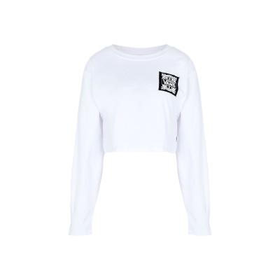 ヴァンズ VANS T シャツ ホワイト XS コットン 100% T シャツ