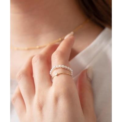 指輪 [mline] WEB限定 プチハートリング