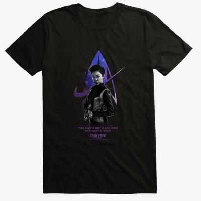 Movie スタートレック Tシャツ Star Trek Discovery Michael Burnham T-Shirt メンズ