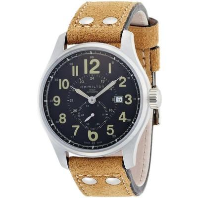【並行輸入品】[ハミルトン] 腕時計 Khaki Officer Auto 44mm H70655733  ブラウン