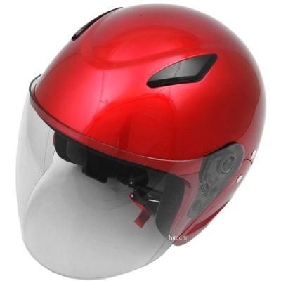 4950545391544 セプトゥ ceptoo ヘルメット セミジェット GC-7 キャンディレッド フリーサイズ JP店