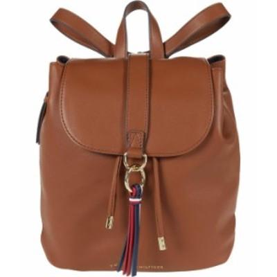 トミー ヒルフィガー レディース バックパック・リュックサック バッグ EVA Flap Backpack Smooth Cognac
