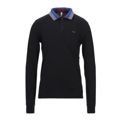 サンシックスティエイト SUN 68 ポロシャツ ブラック S コットン 95% / ポリウレタン 5% ポロシャツ