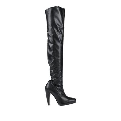 ファルッチ FARRUTX ブーツ ブラック 37.5 紡績繊維 ブーツ