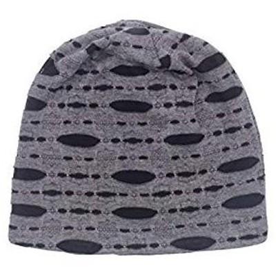 CapGear メンズ カジュアル ヴィンテージビーニー シンプル フリーサイズ帽子 冬キャップ スカルキャップ 男女兼用 グレー