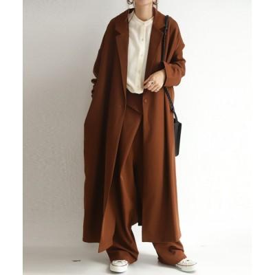 antiqua / デザインロングジャケット WOMEN ジャケット/アウター > テーラードジャケット