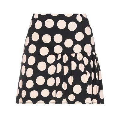 BE BLUMARINE ミニスカート ベージュ 42 コットン 97% / ポリウレタン 3% ミニスカート