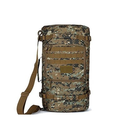 Mariny Waterproof Hiking Backpack, Outdoor Oxford Rucksack Sport Travel Trekking Running Womens Mens (Color : Jungle Camo, Size : 40) 並行