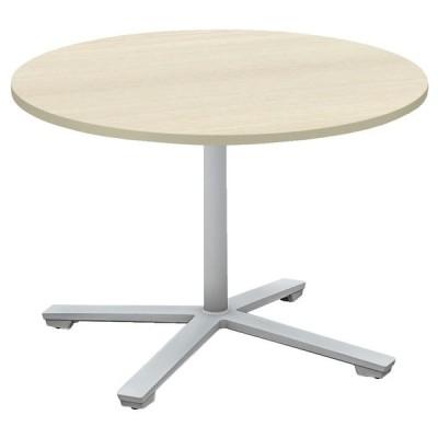 コクヨ品番 MT-VE9LP81M10-E 会議テーブル ビエナ 固定円形天板 ロータイプ塗装脚 W900xD900xH550 ビエナ