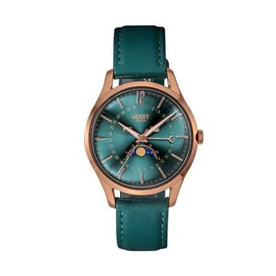 ヘンリーロンドン 腕時計 STRATFORD HL39-LS-0380 正規輸入品 グリーン