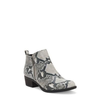 ラッキーブランド ブーツ&レインブーツ シューズ レディース Basel Bootie Snake Print Leather