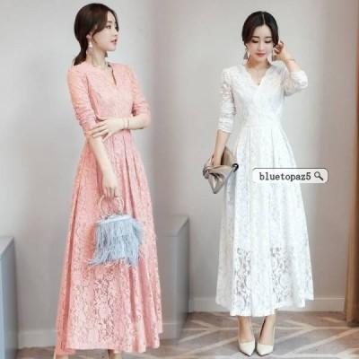 パーティードレス 結婚式 二次会 ワンピース 結婚式 お呼ばれドレス ドレス 結婚式 lf010