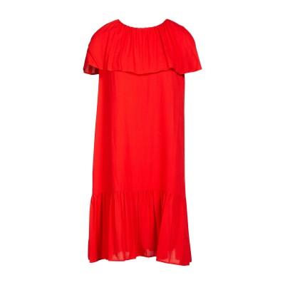 VANESSA SEWARD ミニワンピース&ドレス コーラル 40 レーヨン 100% ミニワンピース&ドレス