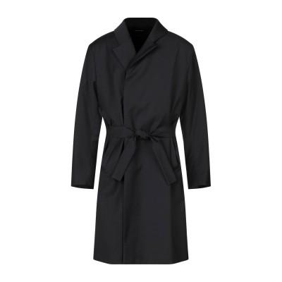 オデュール CONCEPTS D'ODEUR コート ブラック M ウール 98% / ポリウレタン 2% コート