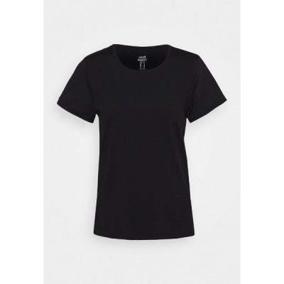 カサル シャツ レディース トップス ICONIC TEE - Basic T-shirt - black