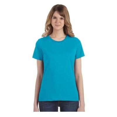 レディース 衣類 トップス Anvil Women's Lightweight Silhouette Crewneck T-Shirt Style 880 Tシャツ