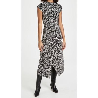 レベッカ テイラー Rebecca Taylor レディース ワンピース ノースリーブ ワンピース・ドレス Sleeveless Zebra Lily Dress Black Combo