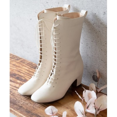 welleg from outletshoes / レースアップ ロングブーツ WOMEN シューズ > ブーツ