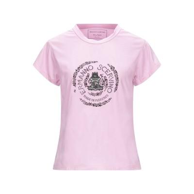 エルマノ シェルヴィーノ ERMANNO SCERVINO T シャツ ピンク XS コットン 100% / ガラス / ラミー / 亜鉛 T シャツ