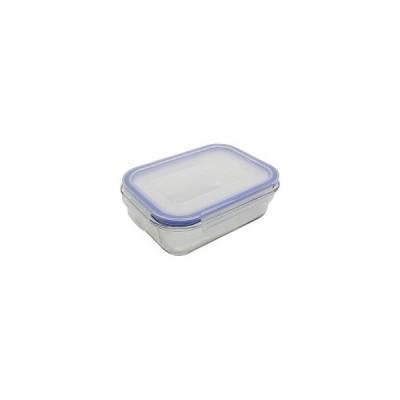保存容器 耐熱ガラス パチっとロック 長方形 R650 ZB-4916 ( 1コ入 )