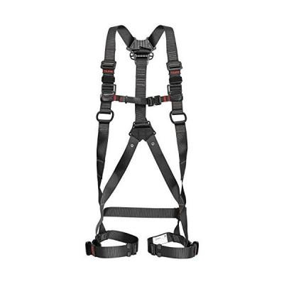 タジマ フルハーネス安全帯ZA 軽量アルミ・ワンタッチ腿バックルモデル Lサイズ黒 AZAL-BK