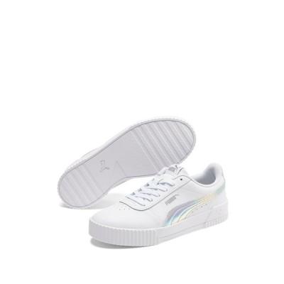 プーマ レディース スニーカー シューズ Carina Iridescent Sneaker WHITE