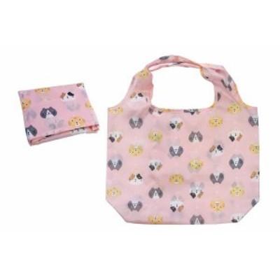 【猫雑貨】エコバッグ【ピンク】【かばん】【鞄】【小物入れ】【ケース】【買い物】【バッグ】【ネコ】【猫】【キャット】【ねこ】【ネ・