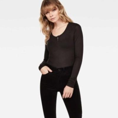 gstar ジースター ファッション 女性用ウェア Tシャツ gstar granddad-slim-r-t