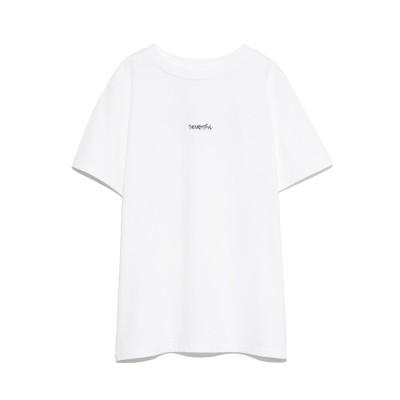 【ミラオーウェン/Mila Owen】 手書き風ロゴTシャツ