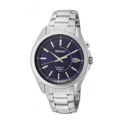 腕時計、アクセサリー セイコー アストロン グランドセイコー Seiko Men's SKA521 Stainless Steel Analog with Blue Dial Watch 正規輸入品