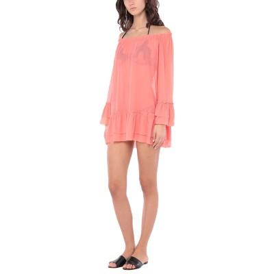 FISICO ビーチドレス サーモンピンク M ナイロン 92% / ポリウレタン 8% ビーチドレス
