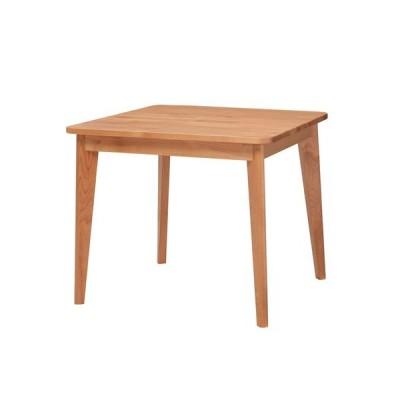ダイニングテーブル プリモ 2人用 幅80cm アルダー 国産 おしゃれ