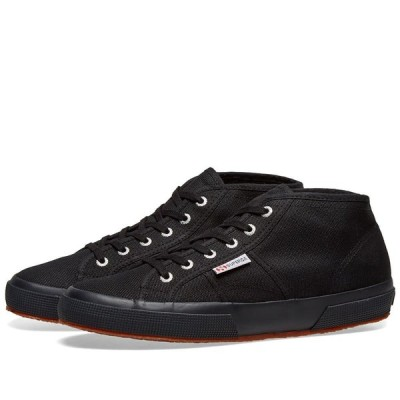 スペルガ Superga メンズ スニーカー シューズ・靴 2754 Cotu Mid Full Black