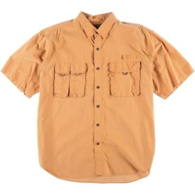 NORTH RIVER 半袖 フィッシングシャツ メンズXXL /eaa019336