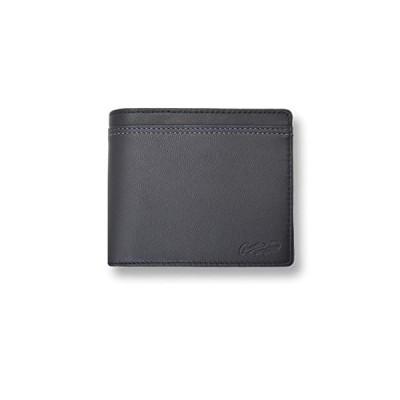 全3色 CROCODILE クロコダイル ウォレット 二つ折り お札入れ 財布(81cr64) (ブロック)