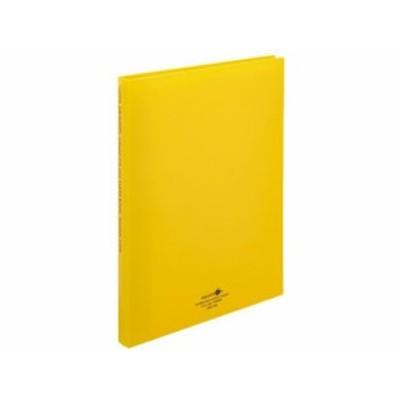 AQUA DROPs クリヤーブック(ポケット交換) A4 幅25mm 黄 リヒトラブ N5016-5
